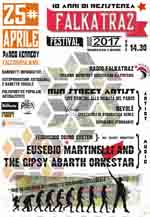 FALKATRAZ FESTIVAL 25APRILE2017 AL PARCO KENNEDY X EDIZIONE