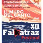# FALKATRAZ FESTIVAL XII EDIZIONE 25APRILE2019 AL PARCO KENNEDY